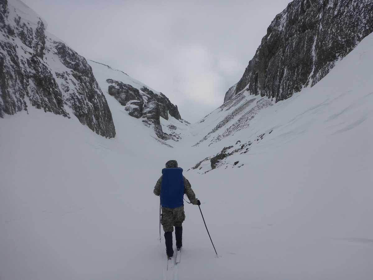 Лыжный поход по Хибинам, 1 к.с.