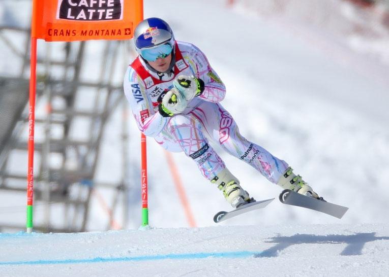 Североамериканская горнолыжница Линдси Вонн сломала руку впроцессе тренировки